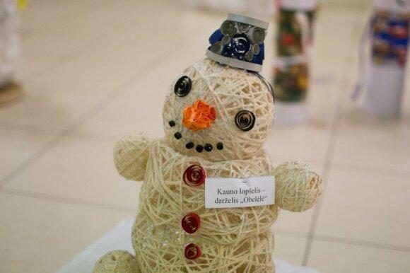 Kauno vaikai sukūrė 40 originalių besmegenių ne iš sniego