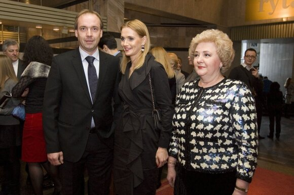 Ernestas Butrimas, Jurgita Butrimienė, Kristina Brazauskienė