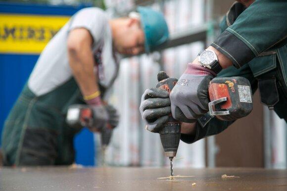 Užsisakyti statybininką ar meistrą gali būti kaip niekad sunku: tenka palaukti ir pusę metų ar ilgiau, sumokėti daugiau