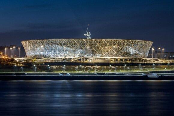 Vos spėti pastatyti: kokie jie – milijardus kainavę stadionai Rusijoje?