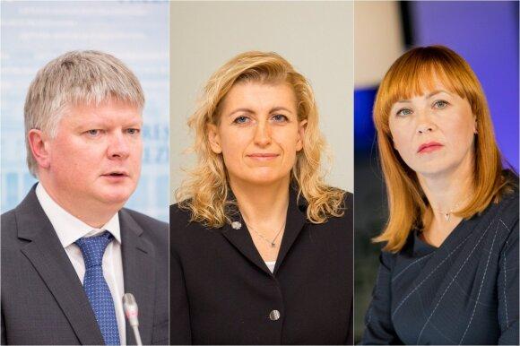 Kęstutis Navickas, Liana Ruokytė-Jonsson ir Jurgita Petrauskienė