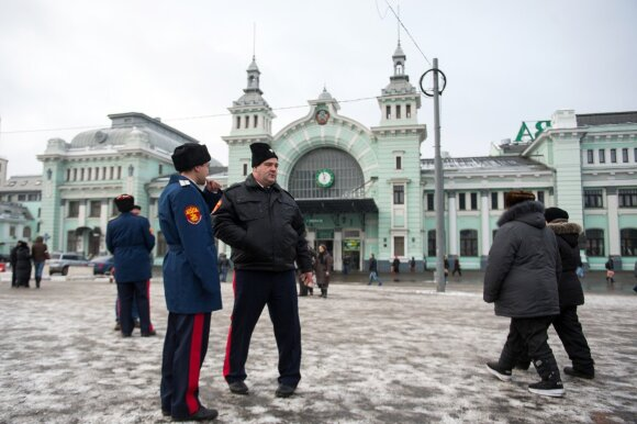 Kazokai Maskvoje