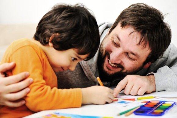 Geras vyras ir geras tėtis yra tas, kuris...