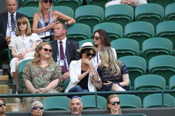 Meghan Markle teniso turnyre