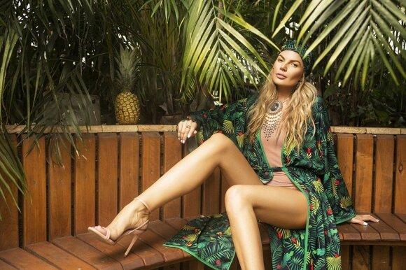 Solveiga Mykolaitytė tapo kimono modeliu
