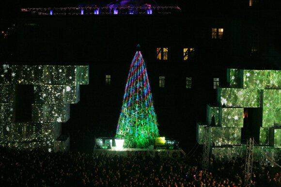Kauno Kalėdų eglutės įžiebimas