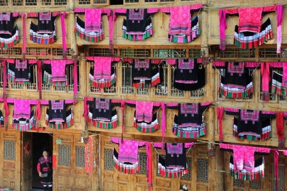 Kinija susiduria su drabužių perdirbimo problema
