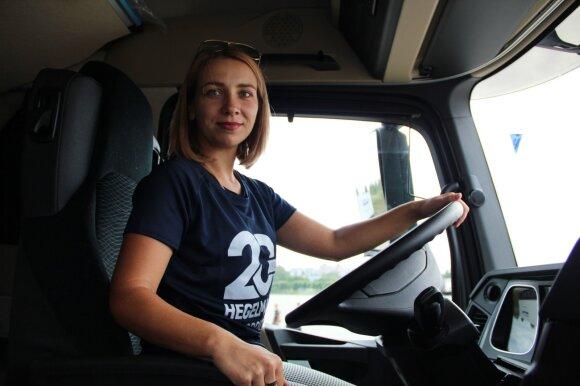 Vilkiko vairuotoja Olga