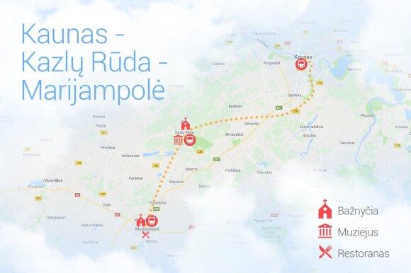 Vilnius-Kaunas-Kazlų Rūda-Marijampolė