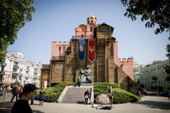 Kijevas, Aukso vartai