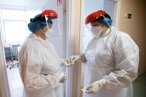 Slaugytoja – apie darbą intensyviausioje Lietuvos reanimacijoje: 4 valandas – jokio tualeto ar vandens gurkšnio