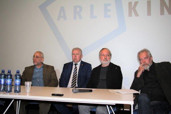 На дискуссии в Клайпеде Сванидзе и Анушаускасу пришлось спорить с представителем консульства России