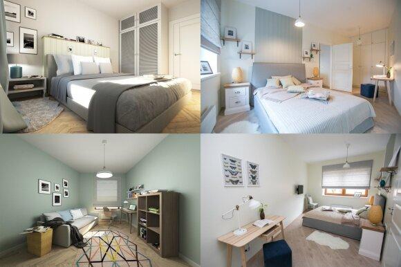 Už 114 tūkst. eurų parduodamas butas – iš arti: klasika su skandinaviško stiliaus priemaišomis
