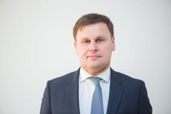 """""""Regitros"""" generalinio direktoriaus pavaduotojas Saulius Šuminas"""