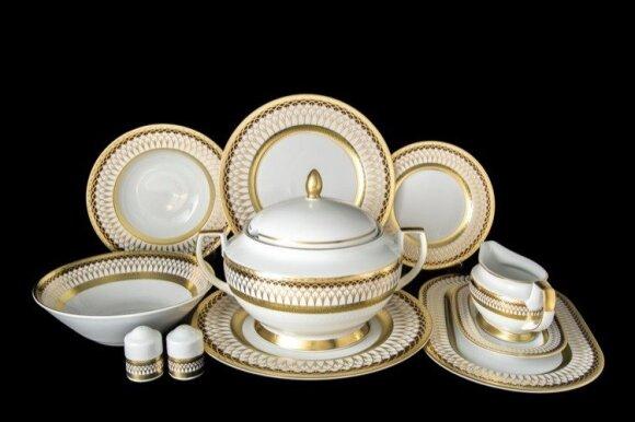 Для резиденции Лукашенко закупают золотые тарелки
