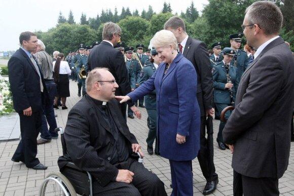 Tomas Šernas ir Dalia Grybauskaitė