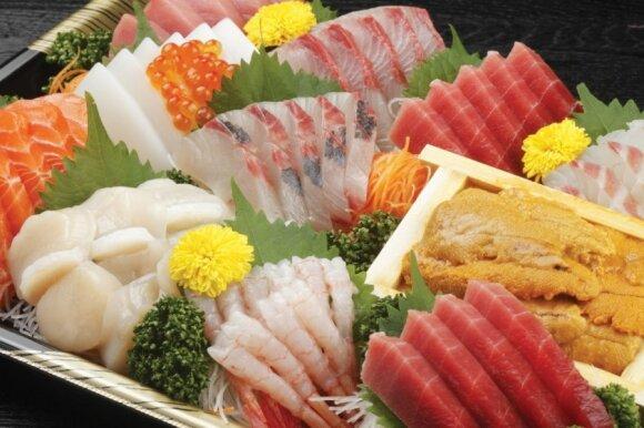 Japonijos spalvos ir skoniai: kaip išmokti valgyti žalią žuvį ir išsivirti miso