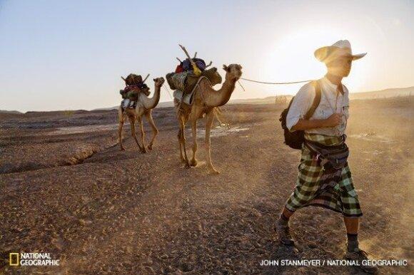 Į kelionę pėsčiomis per pasaulį leidęsis žurnalistas atskleidė neeilinius išgyvenimus