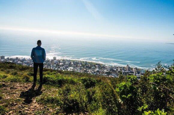 Verslininkas po kelionės Afrikoje: nerimavau, kad būsiu iškeptas ant laužo