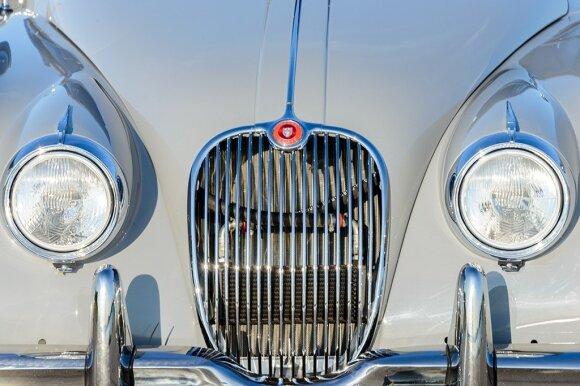 """Karolio Raišio """"Jaguar XK150 FHC"""""""