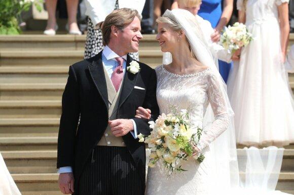 Vindzoro pilyje vestuvių varpai skamba ledi Gabriellai