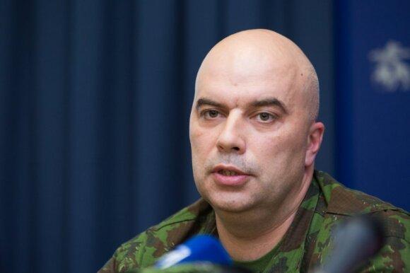 Karo prievolės ir komplektavimo skyriaus viršininkas majoras Žygimantas Adamonis