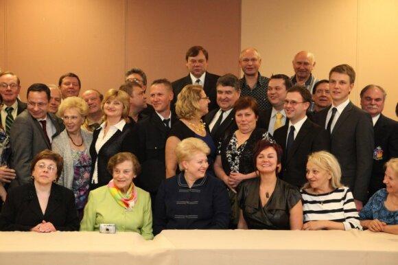 Dalia Grybauskaitė susitiko su JAV lietuvių organizacijų atstovais