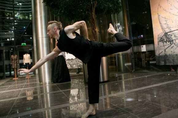 """Teatro """"Aura"""" vadovė B.Letukaitė: judesys yra tik forma"""