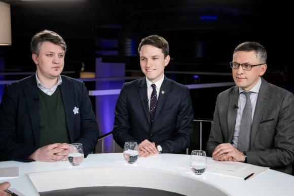 Vaidas Saldžiūnas, Linas Kojala, Vytautas Bakas