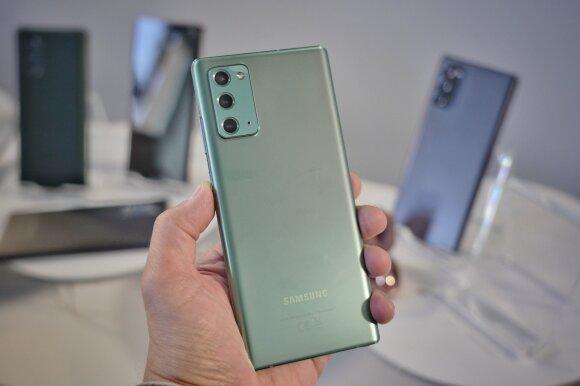 """Naujausi """"Samsung"""" įrenginiai"""