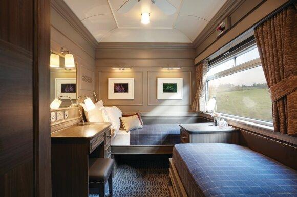 Lietuvė išbandė karališką kelionę traukiniu po Airiją: čia keleiviai prabangą kabina šaukštais