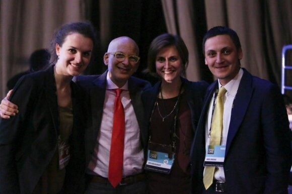 Forum One komanda su Seth Godin