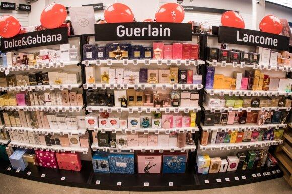 Pigu.lt parduotuvėje Vilniuje yra daugiau nei 2500 kvepalų kategorijos prekių