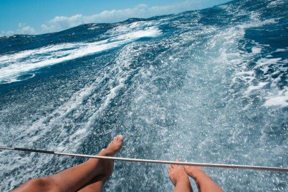 Vandenyno bangas suvaldžiusios merginos: sunku įvertinti tai, ką patyrėme