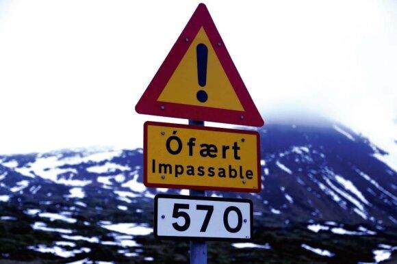 Nuotykiai ir išbandymai Islandijoje, ledo ir ugnies šalyje