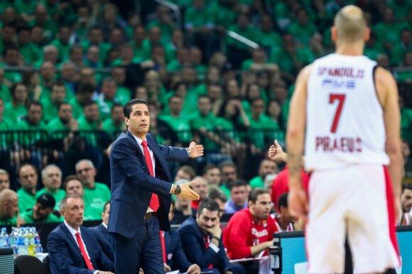 Ioannis Sfairopoulas ir Vassilis Spanoulis