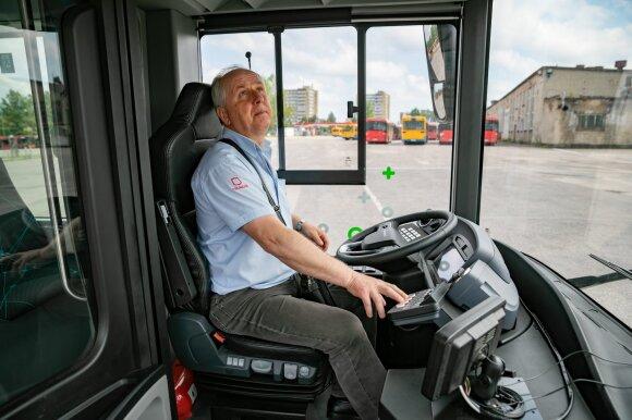 """Vilnius išbandys Kinijoje gaminamus elektrinius autobusus """"Yutong"""""""