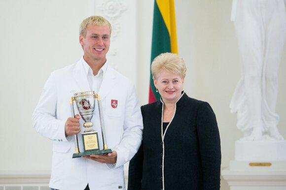 Jevgenijus Šuklinas ir Dalia Grybauskaitė