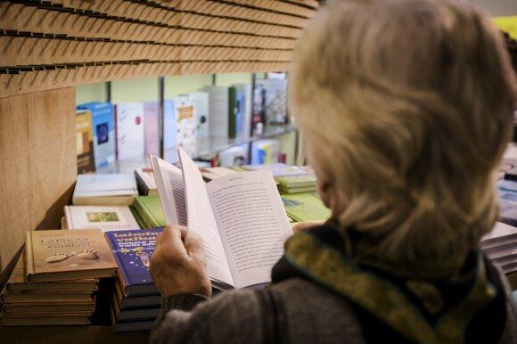 Lietuvių skaitytojai labiausia ieškojo V. Račicko ir V. Daujotytės