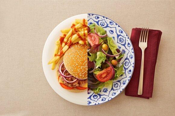 Kas yra kalorijų deficitas ir ar šis lieknėjimo metodas saugus?