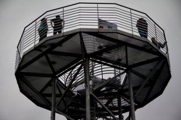 Vaizdas iš Drevenos apžvalgos bokšto