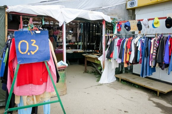 Panevėžio dėvėtų drabužių turgus