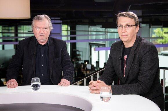 Vladas Gaidys ir Vytautas Bruveris