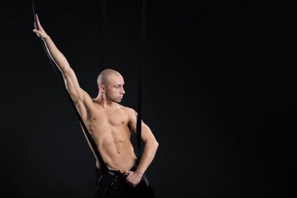 Šokėjas iš Baltarusijos Jevgenijus Jakišas