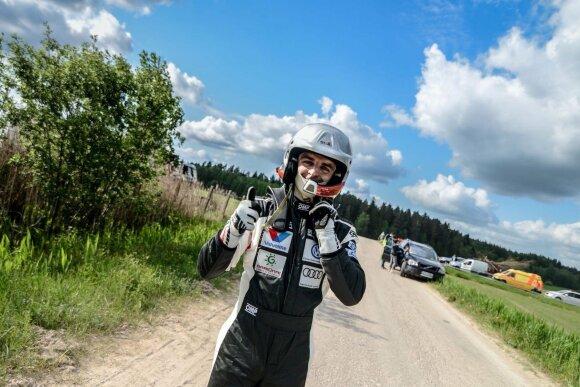 Vytautas Švedas papasakojo, kas jam padeda pasiekti gerų rezultatų ralio trasose
