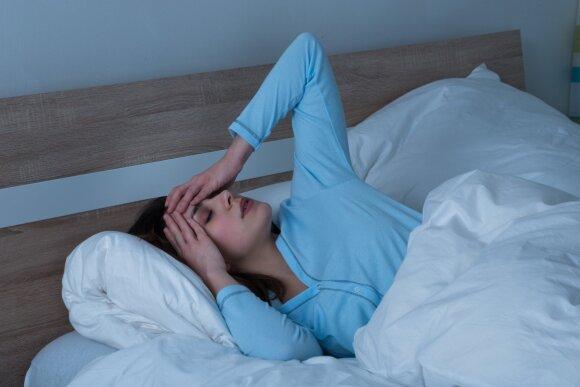 Ką daryti, jeigu nubudę naktį nebegalite užmigti