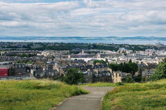 Edinburgą supa kvapą gniaužianti gamta, jos vaizdai gali atsiverti net ir būnant pačiame miesto centre