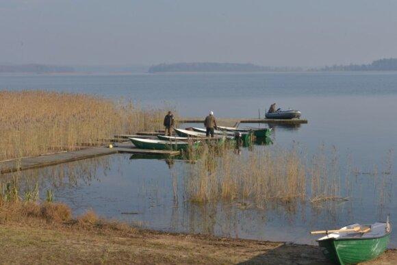 Įžuvinamas žvejų rojus