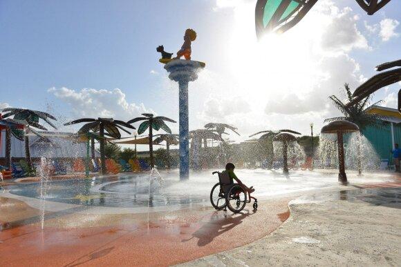 Įkurti pramogų parką neįgaliems vaikams paskatino asmeninė patirtis