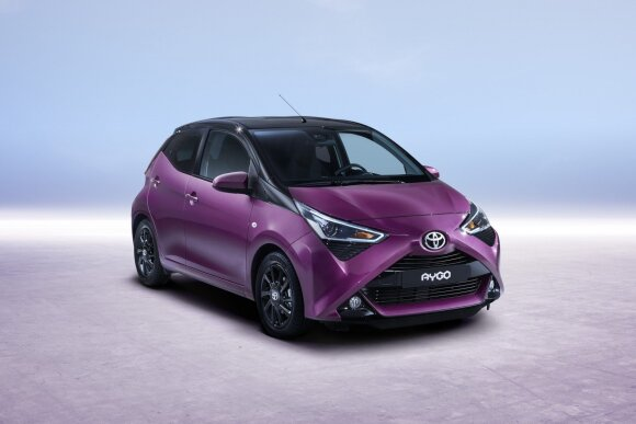 """Modernizuota """"Toyota Aygo"""""""